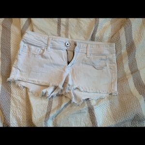Dollhouse White Denim Shorts